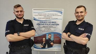 Policjanci którzy uratowali życie mężczyźnie