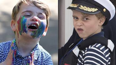 Książę Louis i książę George