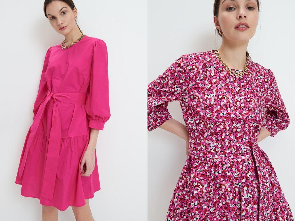sukienki maskujące biodra