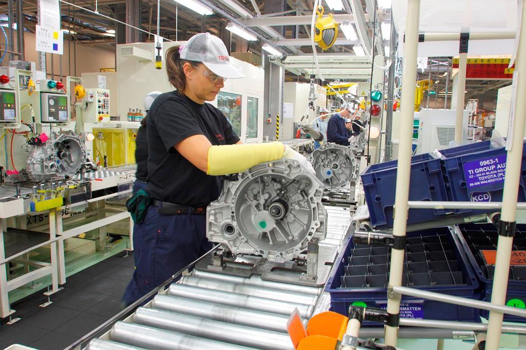 Toyota produkcja