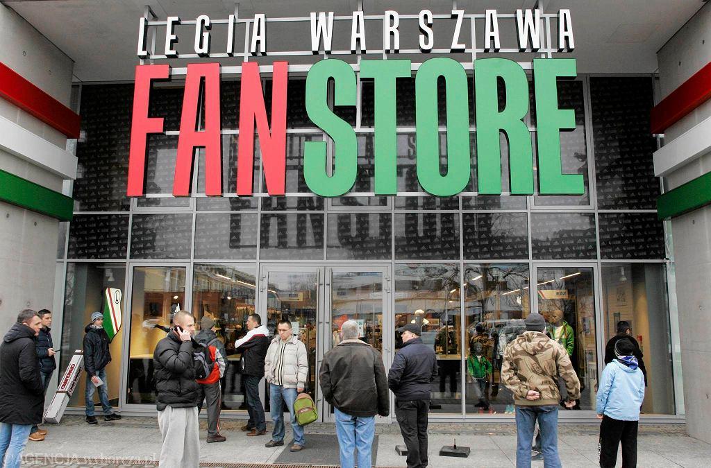 Nowy sklep Legii Warszawa