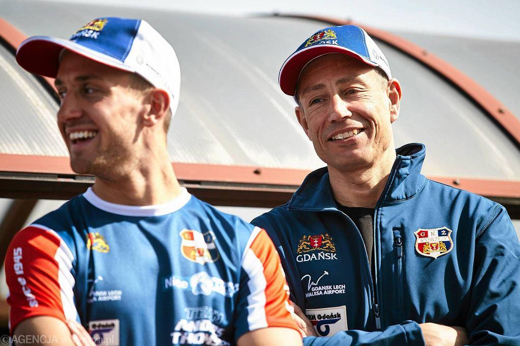 Magnus Zetterstroem (z prawej)