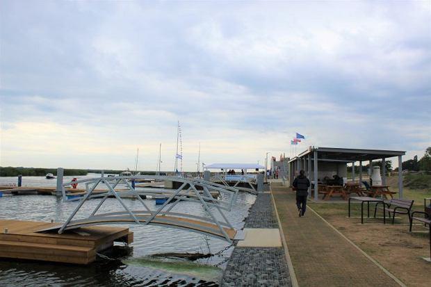 Otwarcie przystani żeglarskiej w Łunowie (Świnoujście) w ramach Zachodniopomorskiego Szlaku Żeglarskiego