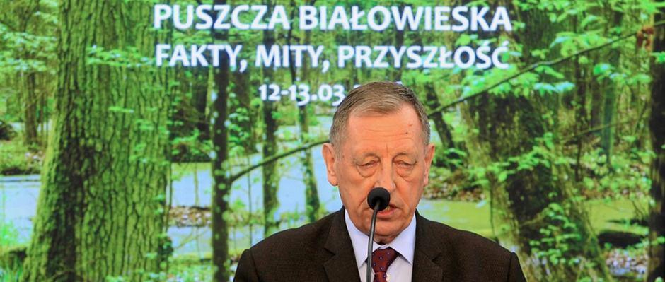Min. Jan Szyszko