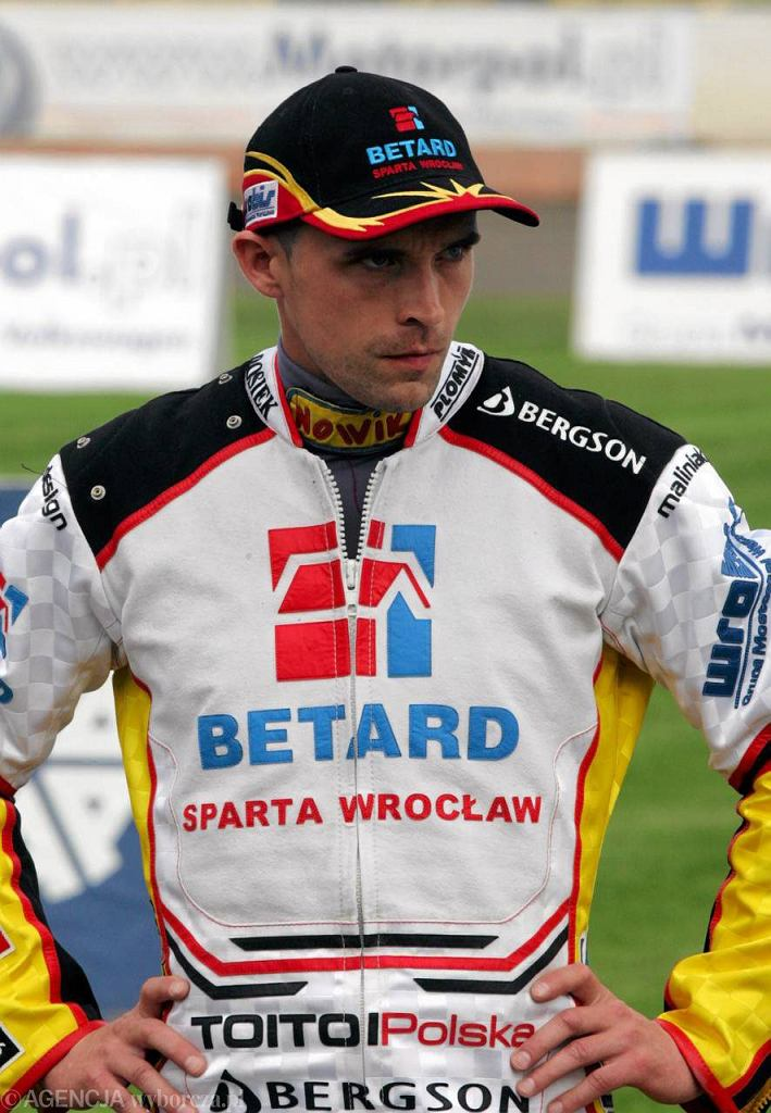 Tomasz Jędrzejak - kapitan Betardu Sparty Wrocław