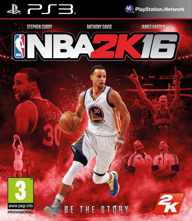 Okładka nowej gry NBA 2K16