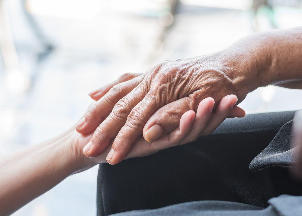 Pacjent z chorobą Alzheimera