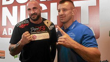 Przemysław Saleta i Tomasz Adamek