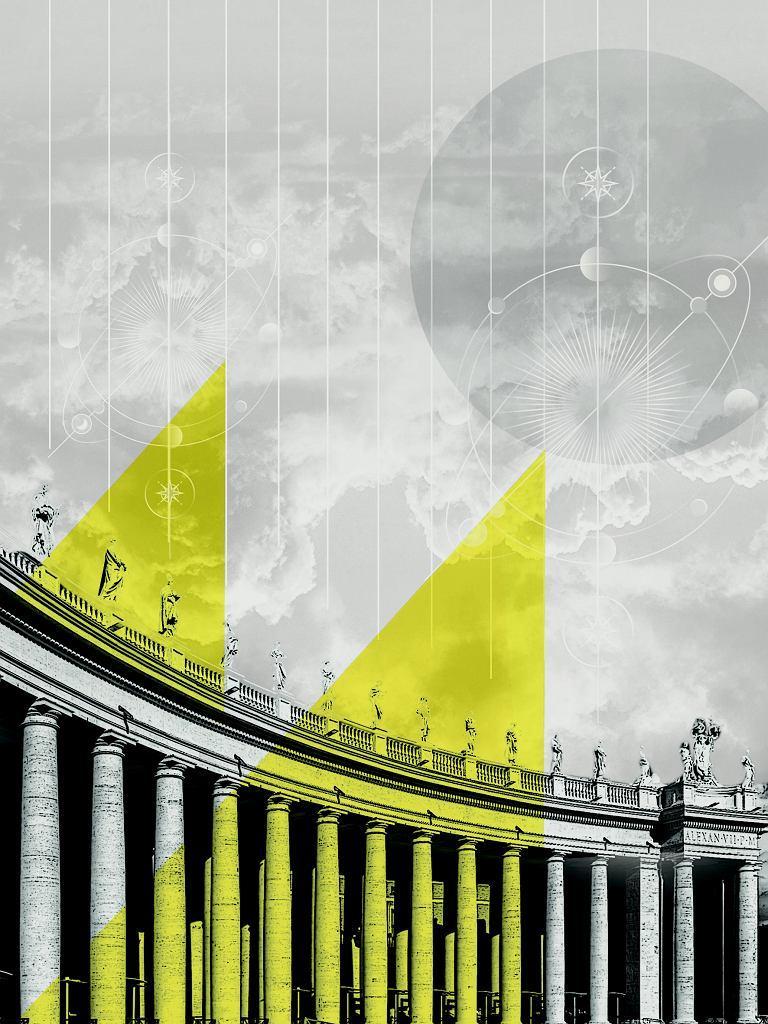Obiad w Rzymie, grafika do rozdziału - Makaron