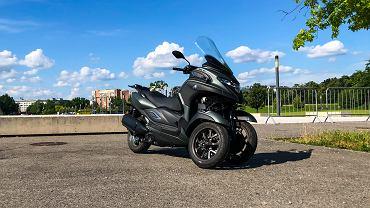 Yamaha Tricity 300, trójkołowy maxi skuter