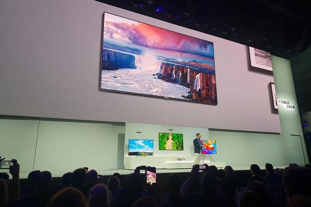Samsung prezentuje nowe telewizory QLED 2018