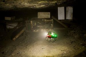 KGHM testuje podziemnego drona. Pomoże w poszukiwaniach zaginionych górników