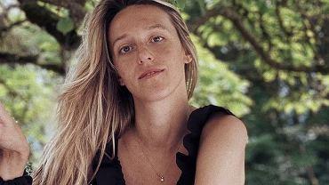 Aleksandra Żebrowska pokazała jak karmi piersią. 'Cieniasy chodzą spać przed północą'