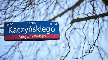 Pl. Lecha Kaczyńskiego, Łódź. Marzec, 2018 r.