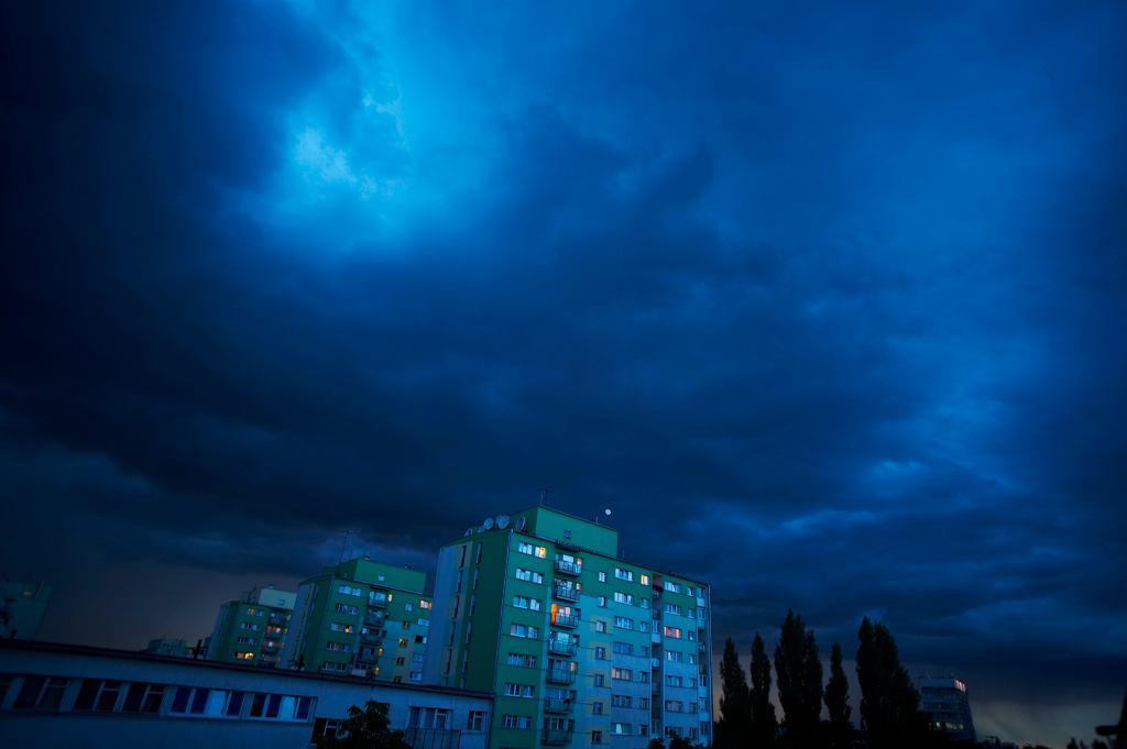 Chmury (zdjęcie ilustracyjne)