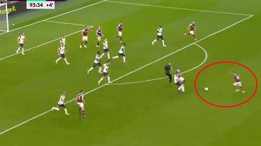 Kapitalny gol West Hamu United w meczu z Tottenhamem