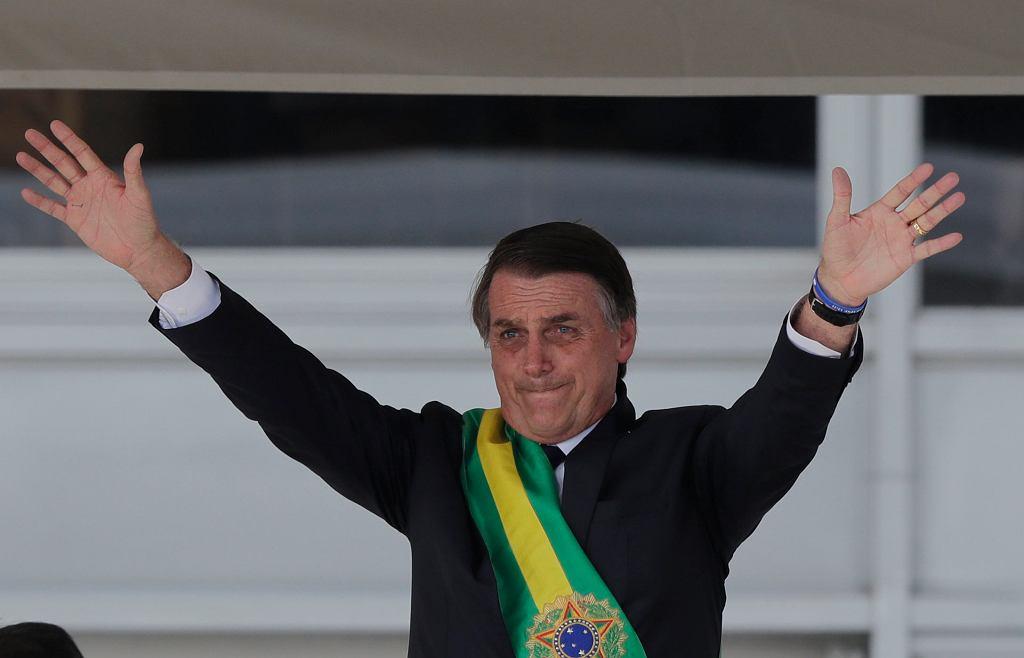 Zaprzysiężenie nowego prezydenta Brazylii Jaira Bolsonaro Bolsonaro