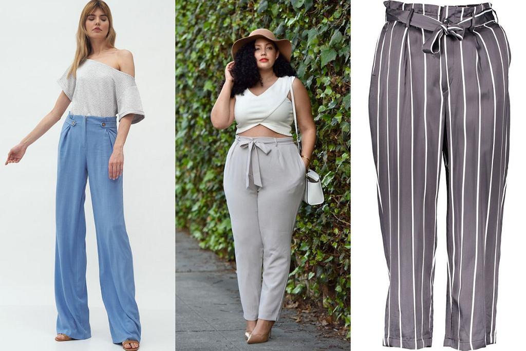 Spodnie dla kobiet z dużym brzuchem