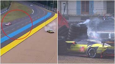 Orlen Team WRT i wypadek na Le Mans 24h