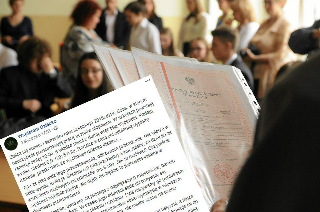 W polski szkołach powstają nowe rankingi dla uczniów.