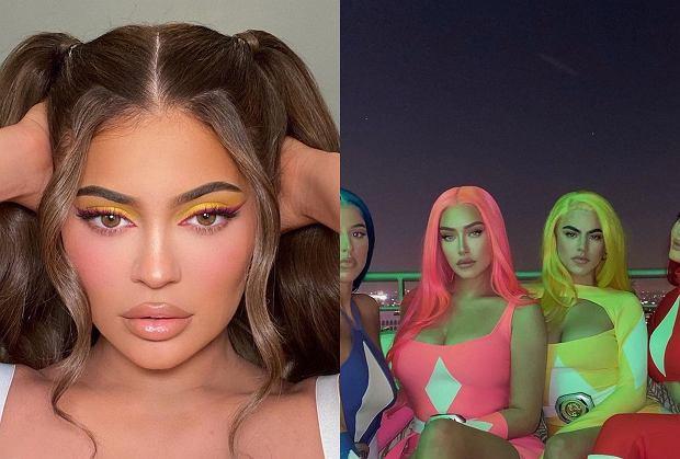 """Kylie Jenner standardowo jak co roku zaskoczyła wymyślną kreacją z okazji Halloween. Tym razem postawiła na seksowną wojowniczkę z """"Power Rangers"""" i wraz ze znajomymi szalała na imprezie."""