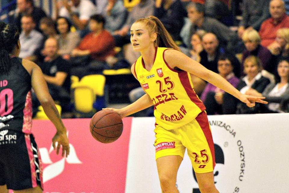 Na zdjęciu Agnieszka Śnieżek ze Ślęzy Wrocław