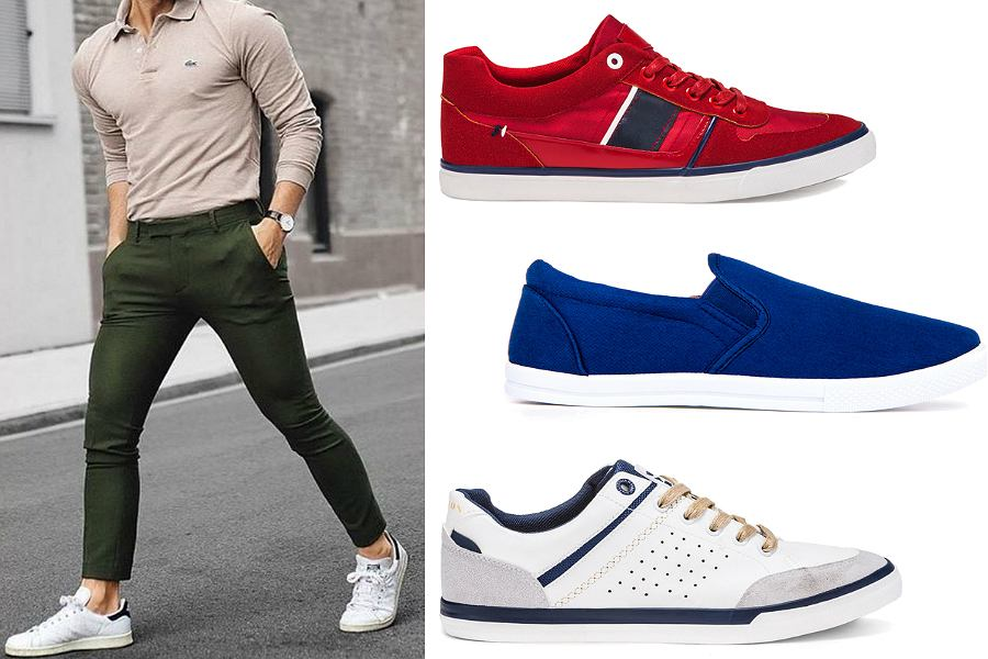 Buty letnie męskie, modne i komfortowe obuwie męskie na lato