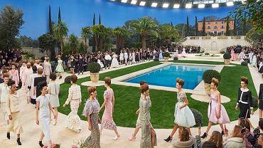 Chanel - pokaz 'haute couture' wiosna-lato 2019