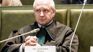 Mecenas Jacek Dubois. Sąd najwyższy, Warszawa, 11 grudnia 2018
