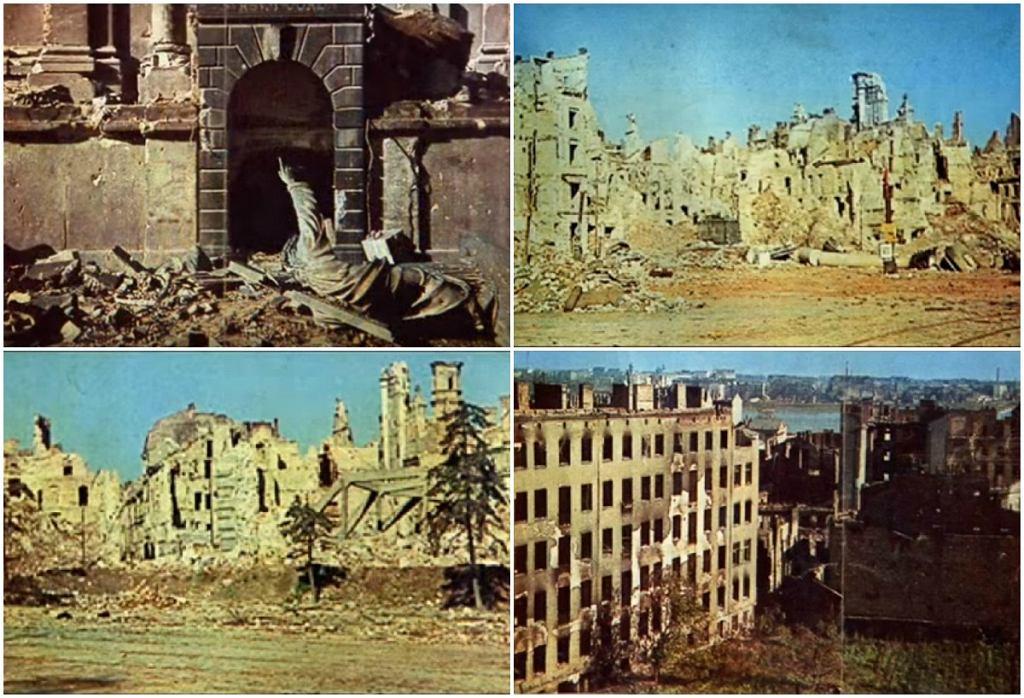 Kolorowe zdjęcia Warszawy z 1944 roku