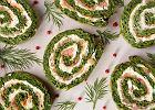 Przepis na roladę szpinakową z łososiem