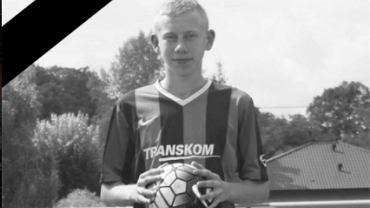 Mateusz Marciniak. Zmarły 19-latek Juranda Koziegłowy (liga okręgowa). Źródło: Facebook