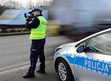"""W czwartek ogólnopolska akcja policji """"Prędkość"""". Mogą posypać się mandaty"""