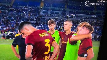Nicola Zalewski po meczu z Lazio