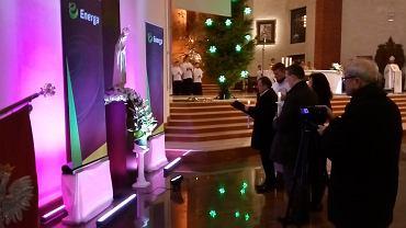 Uroczystość zawierzenia Grupy Energa Bożej Opatrzności i Matce Boskiej  Gromnicznej. Gdańsk, 2 lutego 2017