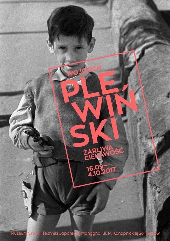 'Wojciech Plewiński. Żarliwa ciekawość', plakat