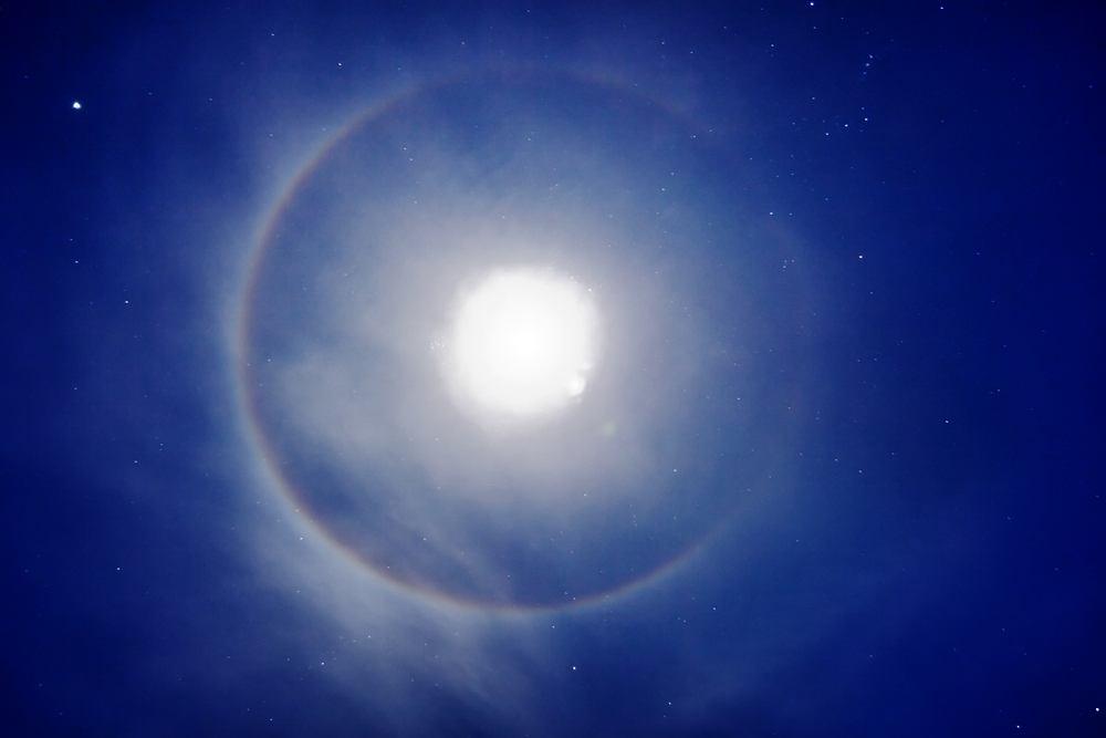 Księżycowe halo // ZDJĘCIE ILUSTRACYJNE