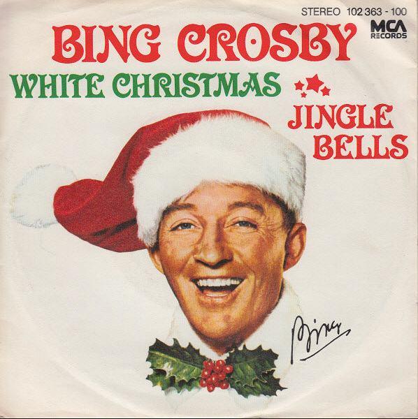 okładka płyty 'White Christmas' Binga Crosby'ego