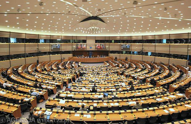 Parlament Europejski - sala obrad plenarnych