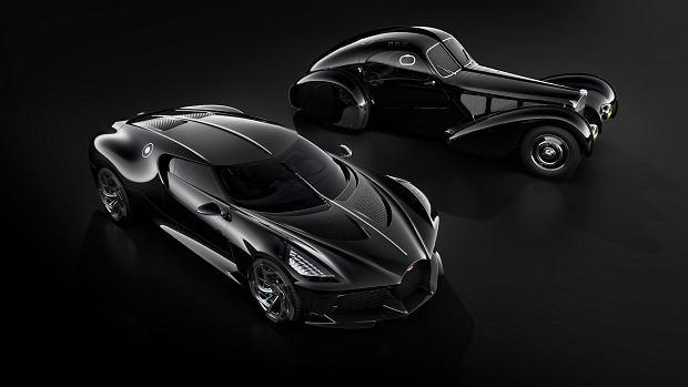 Bugatti La Voiture Noire - nowe i stare