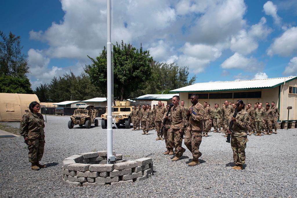 Baza wojskowa w Lamu w Kenii