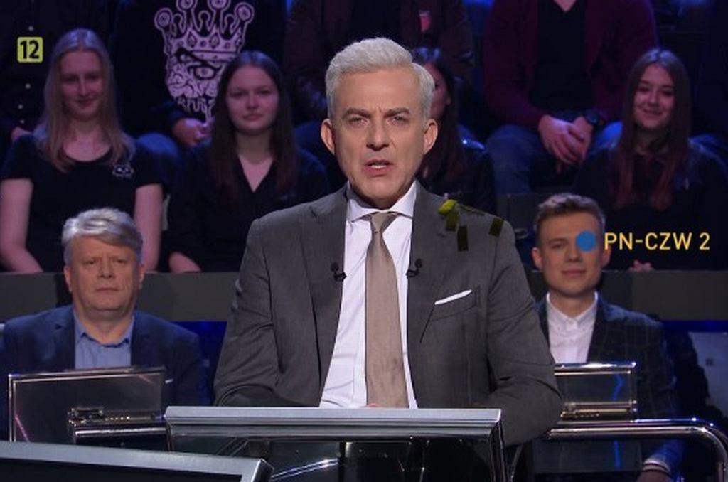 Hubert Urbański, Milionerzy. Pytanie za milion złotych padnie w programie?
