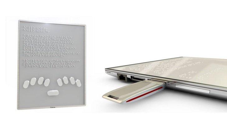 Blitab - tablet dla niewidomych i niedowidzących