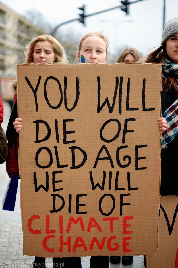 Młodzieżowy Strajk Klimatyczny w Olsztynie