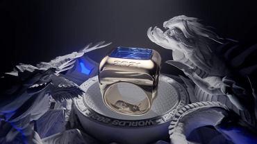 Tak prezentuje się pierścień Worlds 2021.
