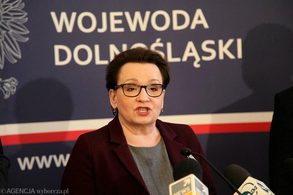 Anna Zalewska we Wrocławiu