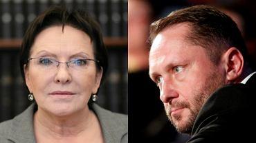 Ewa Kopacz i Kamil Durczok