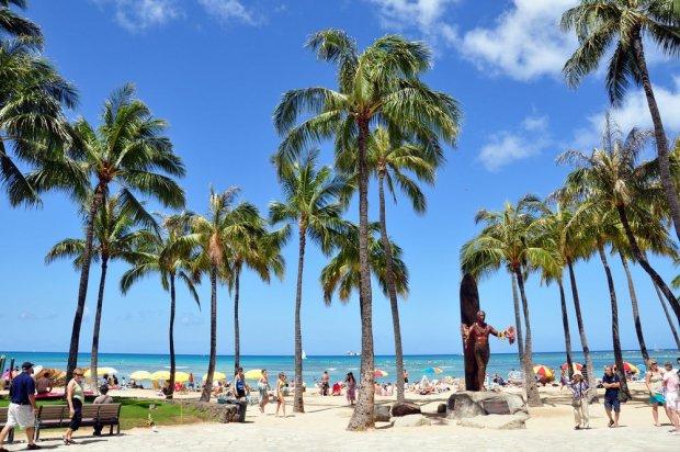 Plaża Waikiki, Honolulu, Hawaje / fot. Shutterstock
