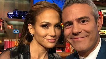 Jennifer Lopez, Andy Cohen