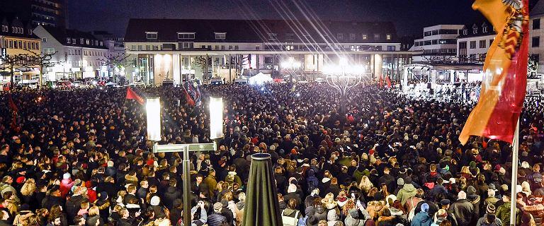 Niemcy po zamachu Hanau. Marsze przeciwko rasizmowi i AfD